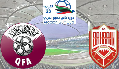 Qatar going to meet Bahrain in a Gulf Cup group B match. Team News, Statistics, Predictions in the Preview of Qatar and Bahrain