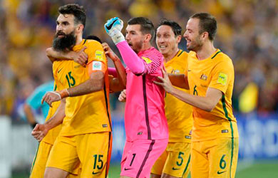 Australia's delight at Czechs