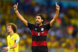 Германия - Бразилия 7:1: Сами Хедира приносит выигрыш умопомрачительной ставки