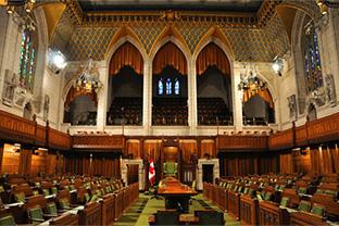 Парламент Канады против одиночных ставок