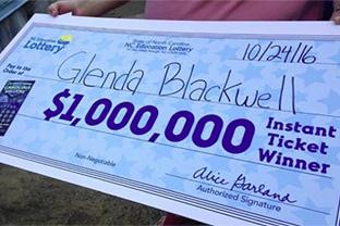 Выиграла миллион в лотерею, доказывая, что это бесполезно