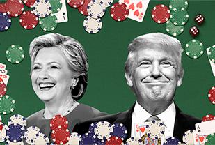 Президентские выборы в США побили рекорды по ставкам